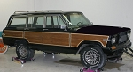 Grand Wagoneer Woodgrain Trim Kit with 1-inch Trim (Trim Only)