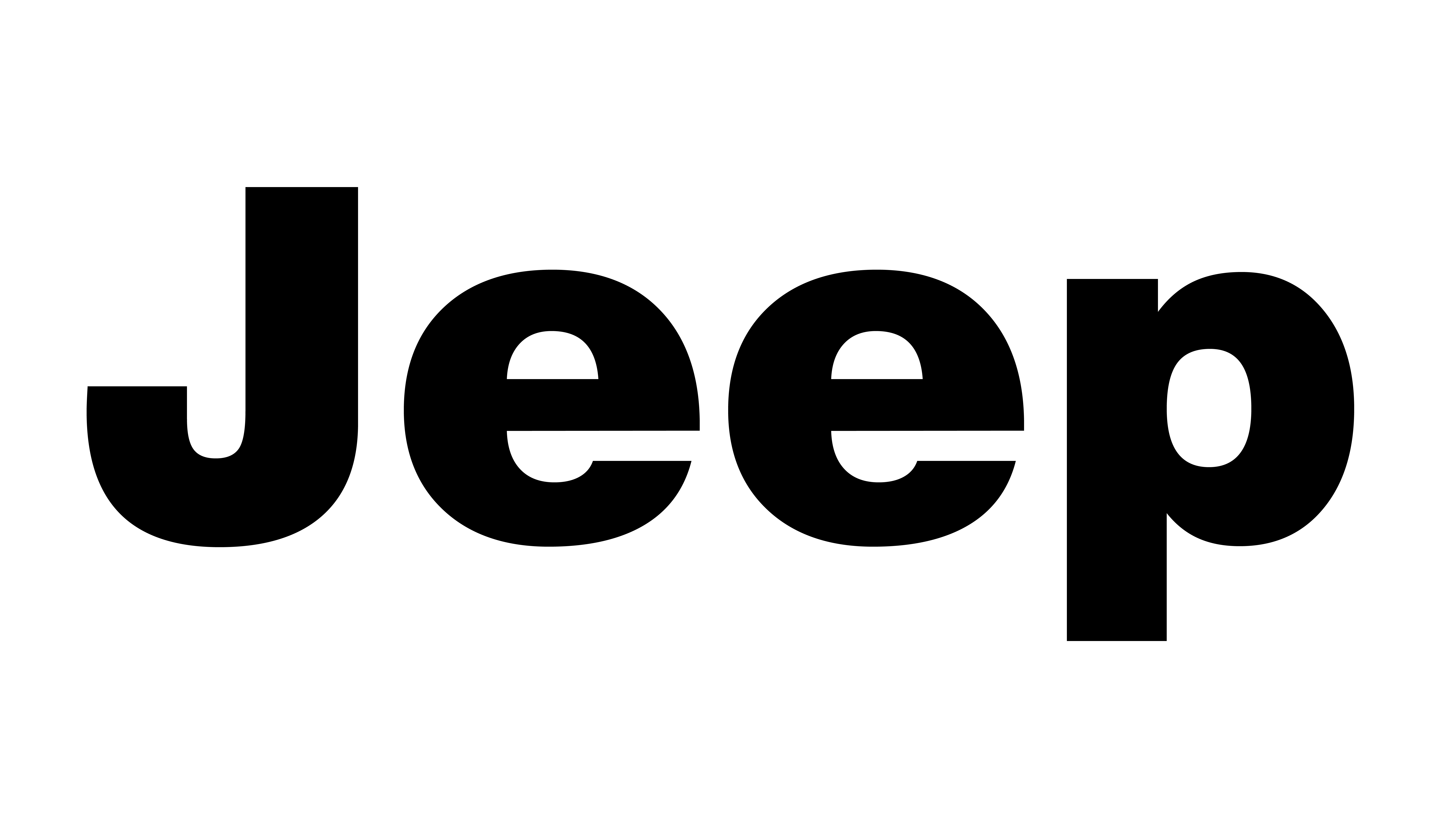 Jeep Stepside Pickup Tailgate Letters