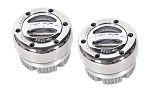 Mile Marker Premium Stainless Steel Hubs - 104