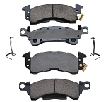 Posi-Quiet Semi-Metallic Brake Pads