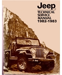 1982-83 Jeep Factory Service Manual