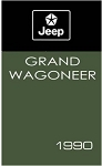 1990 Jeep Grand Wagoneer Owners Manual