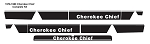 1979-1980 Cherokee Chief Decals