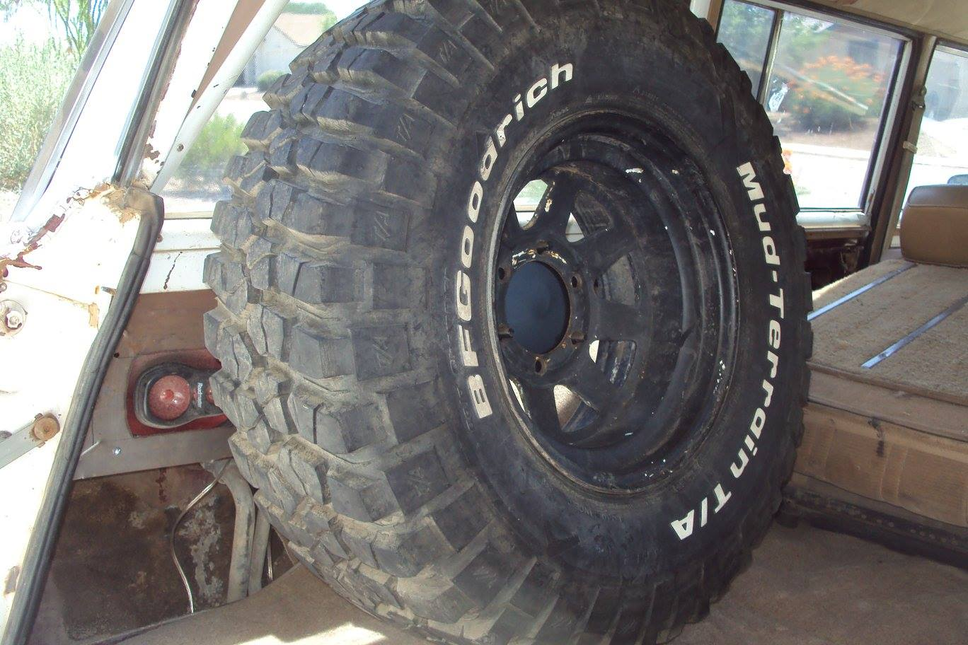 evil twin fab interior tire carrier