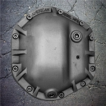Dana 44 Classic Series Differential Cover Sandblasted