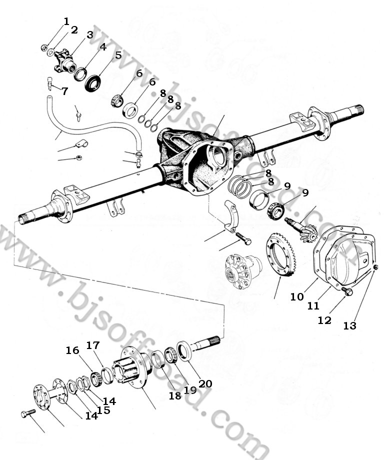 dana er axle diagram  dana  free engine image for user