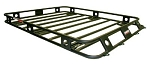 Defender Roof Rack 4.5' wide x 6.5' long One Piece Welded