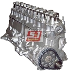 Remanufactured Long Block AMC 258 4.2L Straight 6 1972-1988