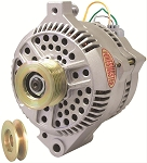 200 amp Powermaster Natural Finish Alternator 1975-1977 3