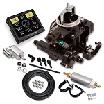 Holley Sniper EFI BBD Self-Tuning Master System for 258 6-Cylinder Engines Black Finish