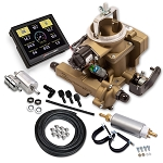 Holley Sniper EFI BBD Self-Tuning Master System for 258 6-Cylinder Engines Gold Finish