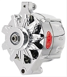 100 amp Powermaster Chrome Finish Alternator 1975-1977 3