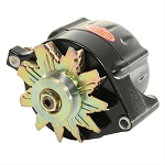 150 amp Powermaster Black Finish Alternator 1975-1977 3