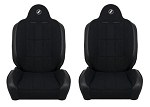 Corbeau Baja RS Reclining Suspension Seats - PAIR