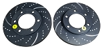 EBC 3GD-Series Dimpled and Slotted Sport Rotors (PAIR) 1974-1991 6-Lug
