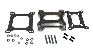 2-Barrel Carburetor to 4-Barrel Carburetor Adapter