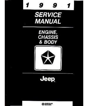 1991 Jeep Factory Service Manual