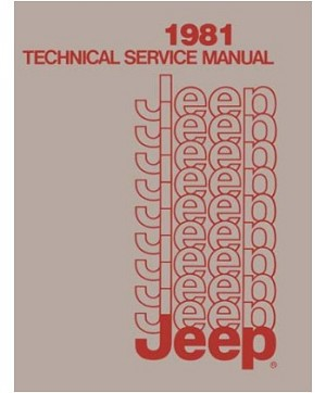 1981 Jeep Factory Service Manual