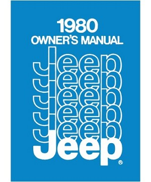 1980 Jeep Owners Manual