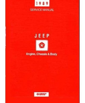 1989 Jeep Factory Service Manual