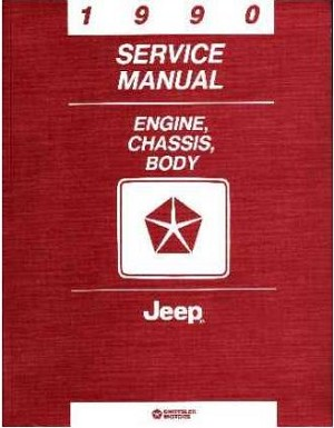 1990 Jeep Factory Service Manual