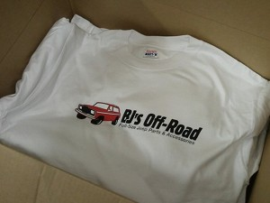 BJ's Off-Road T-Shirt!