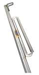 Tailgate Window Lifter Channel Stainless Steel