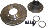 Replacement Rotor and Hub for 1963-73 Disc Brake Kit