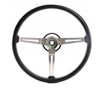 Steering Wheel 3-Spoke Sport Wheel Rubber Grip