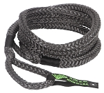 VooDoo Kinetic Recovery Rope 3/4 Inch x 20 Foot Black With Rope Bag