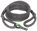 VooDoo Kinetic Recovery Rope 7/8 Inch x 20 Foot Black With Rope Bag