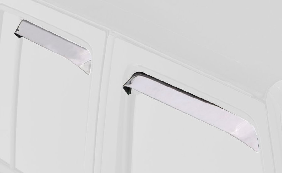 window vent shades stainless 2