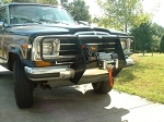Killer32 Winch Mount with Grille Brush Guard 1979-1991