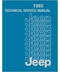 1980 Jeep Factory Service Manual