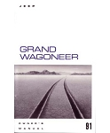 1991 Jeep Grand Wagoneer Owners Manual