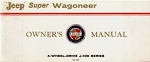 1966-68 Jeep Super Wagoneer Owners Manual
