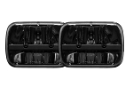 LED Headlamps Pair 5x7 (200mm) by Rigid / Truck-Lite 55003