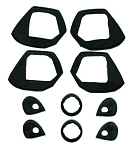 Door Handle and Lock Gasket Kit 4-door