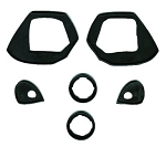 Door Handle and Lock Gasket Kit 2-door