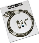 Power Steering Lines  March Serpentine Conversion Kit for 1971-1979