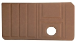 Upholstered Front Door Panels