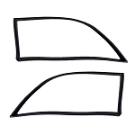 Rear Cargo Area Quarter Window Weatherstrip Seals