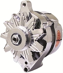 75 amp Powermaster Chrome Finish Alternator 1975-1977 3