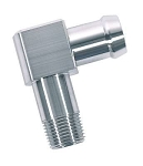 Heater Hose Fitting 90 Degree Stainless Steel - Made in USA!