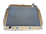 Aluminum Downflow Radiator GM V8 Conversion 1965-1968