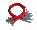 MSD Super Conductor Spark Plug Wires HEI Cap