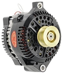 200 amp Powermaster Black Finish Alternator 1975-1977 3