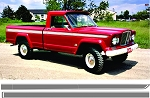 1963-1988 J-Truck Stripe Kit