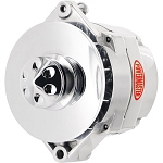 140/80 amp Powermaster Polished Finish  Alternator 1980-1991