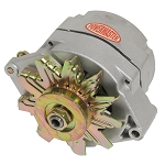 100 amp Powermaster Natural Finish Alternator 1975-1977 2